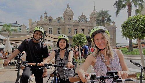 monaco ebike tours Conciergerie Columbus Monte-Carlo